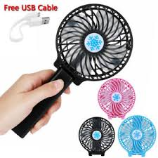 hand held battery fan mini air conditioner cooler fan hand held portable usb