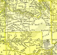 Idaho Counties Map The Usgenweb Archives Digital Map Library Idaho Maps Index