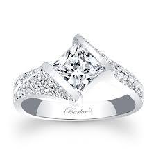 cheap princess cut engagement rings barkev s princess cut engagement ring 7872l barkev s