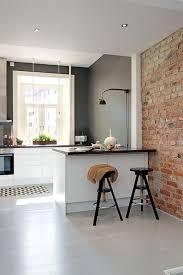 cuisine mini cuisine avec brique photos de design d intérieur et décoration de