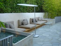 Patio Seating Ideas Pleasant Built In Patio Seating With Additional Home Remodel Ideas