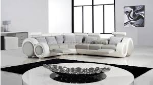 canap d angle cuir blanc design canap d angle en cuir gris gallery of canape d angle cuir blanc