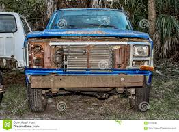Old Ford Truck Grills - abandoned old pick up truck stock photo image 51263085