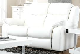 White Leather Recliner Sofa White Leather Recliner Sofa Brightmind