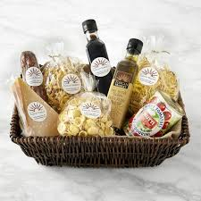 gift baskets food best of italy gift basket williams sonoma