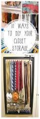 Wardrobe Organiser Ideas by Best 25 Easy Closets Ideas Only On Pinterest Diy Master Closet