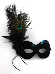 peacock masquerade masks women s unique peacock black masquerade eye mask