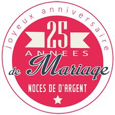 25 ans de mariage 25 ans de mariage noces d argent symbole idées cadeaux