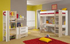 Kids Loft Bed With Desk Underneath Bedroom Wonderful Images Of Fresh In Minimalist Design Bunk Bed