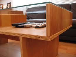 Plywood Coffee Table Custom Birch Plywood Coffee Table Grain 900wide Gif 900 675