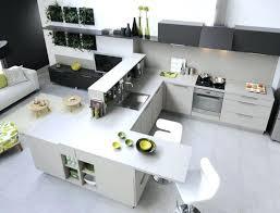 amenagement cuisine ilot central cuisine amenagee grise cuisine amenagee avec ilot central 1