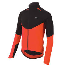 orange cycling jacket men u0027s p r o softshell jacket pearl izumi cycling gear