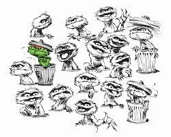 image oscar the grouch multi faces jpg grouches wiki fandom