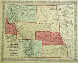 Map Of Montana And Idaho by Antique Prints Blog June 2013