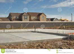 new home foundation new home foundation stock image image of material place 14090187