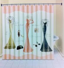 Fashionista Shower Curtain by Fashionista Shower Curtain Shower Curtain Rod