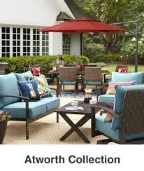 Lowes Allen And Roth Outdoor Furniture - shop the kingsmead patio collection on lowes com