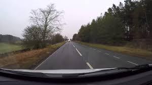 car crash a68 northumberland 15 03 16 youtube