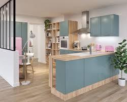 couleur pour une cuisine déco de cuisine vintage en couleur en bois quel style adopter
