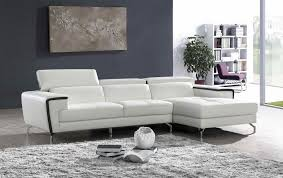 Best Italian Sofa Brands by Living Room Sectional In White Leather With Black Trimming