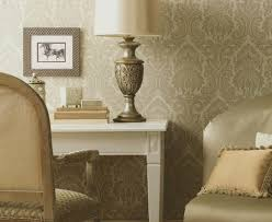 Traditional Bedroom Decor - gorgeous american blinds and wallpaper fashion other metro