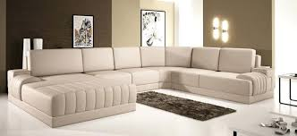Dobson Sectional Sofa Dobson Black Leather Modern Sectional Sofa Free Shipping Today