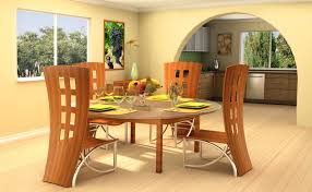 simple dining table designs in wood and glass