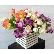 artificial flower for home decor decorative flowers