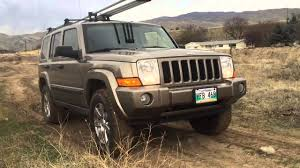 jeep commander lifted 06 jeep commander hill climb youtube