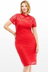 Red Cocktail Dress Plus Size Plus Size Dresses Special Occasion Dresses Plus Size Banded