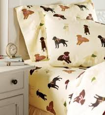 flannel labrador lovers sheets are almost as soft as your dog