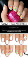 neon polka dot french nail art tutorial best 25 splatter nails ideas only on pinterest splatter paint
