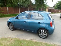 nissan micra alloy wheels used 2014 nissan micra 1 2 tekna 5dr just 11425 miles for sale in