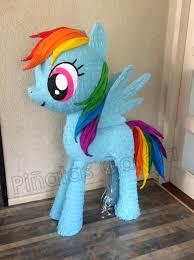 my pony pinata piñata my pony rainbow dash deco party ideas piñatas