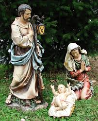 outdoor nativity sets 39 large outdoor nativity set 3 pcs christmas