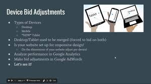 adwords bid adwords tablet other device bid adjustments