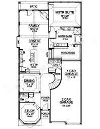 Narrow Floor Plans For Houses Limestone Peak Luxury Floor Plans Narrow Floor Plans