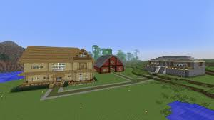 minecraft speedbuild 3 barn house youtube