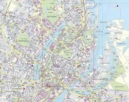 Copenhagen Metro Map by