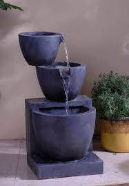 Contemporary Indoor Water Fountains by Minimalist Fountain Pots 1623 Hostelgarden Net