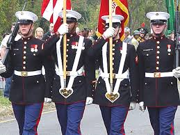 the blue dress uniform is one of the most recognizable uniforms in