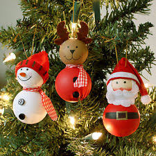 tree santa ornaments ebay
