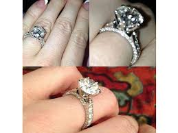 gaudy engagement rings hugh hefner s engagement ring to harris revealed oh no