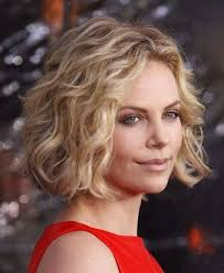beach wave perm on short hair loose spiral perm short hair charlize theron short spiral curls