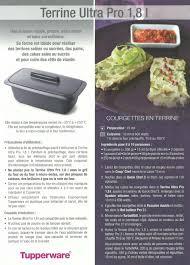 recette de cuisine tupperware fiche recette tupperware terrine ultra pro les macarons à la
