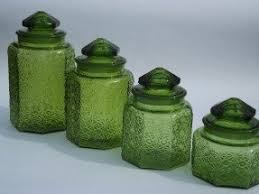 kitchen counter canisters glass kitchen canister sets foter