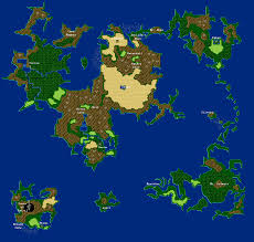 Fantasy World Maps by Final Fantasy 4 Iv Ff4 World Maps