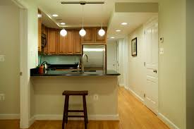lovely basement kitchen for small home decoration ideas with