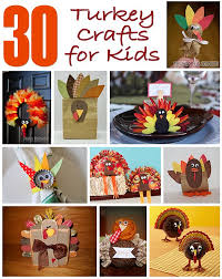 30 turkey crafts for about family crafts