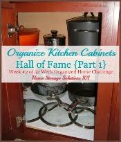 Organize Kitchen Cabinets - instructions for drawers u0026 kitchen cabinet organization